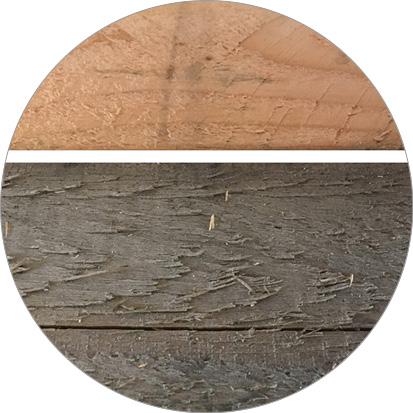 vergrijzing douglas hout