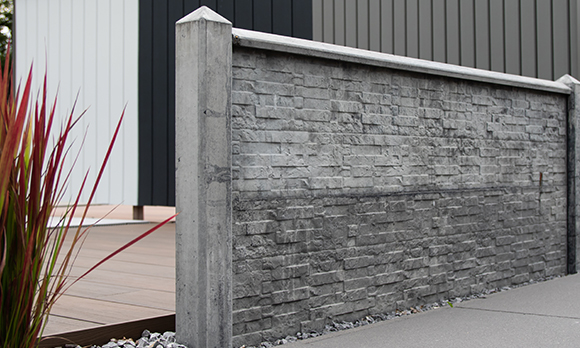 Tuinhek beton