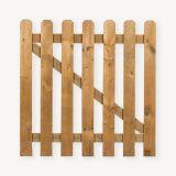 Tuinhekdeur hout