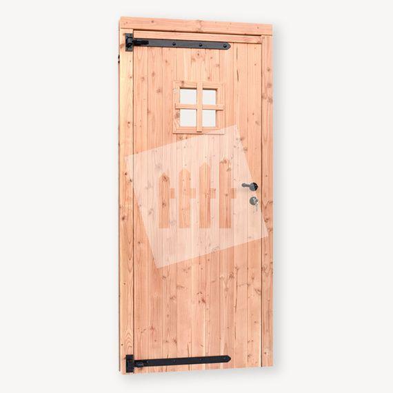 Douglas tuinhuis deur