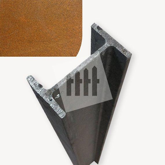 Kokowall IPE-80 palen cortenstaal