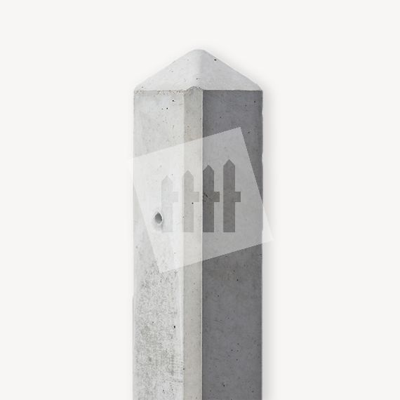 Betonpaal grijs