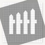 Gaasmat   maas 7,5x7,5