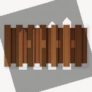 Tuinscherm composiet Design