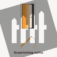 Schuttingdeur composiet Design