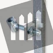 Schuttingdeur frame