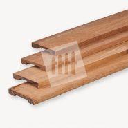 Afdeklat hardhout voor toogschermen