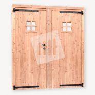 Dubbele deur tuinhuis